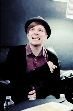 Patrick I love your excellent in making music and stuff.And most people think your not that cute.But,I don't care cause to me your escially speacial in your looks.