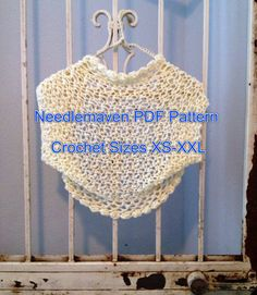 Crochet Pattern PDF File Claire Shrug Women or by PartPixyDesigns, $5.95