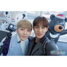 180203 KBS Battle Trip IG Update Teaser with #SEVENTEEN #Seungkwan #Mingyu <3