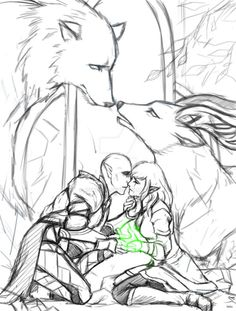 hamydinh:  Keep reading | Solas and Lavellan romance, Solavellan, Dragon Age: Inquisition