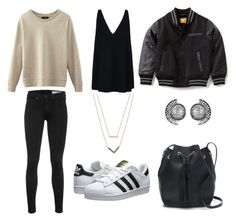 Sans titre #9 by paolacarreau on Polyvore featuring polyvore, fashion, style, STELLA McCARTNEY, rag & bone, adidas Originals, J.Crew and Michael Kors