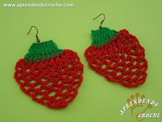 Crochet Earrings Pattern, Christmas Ornaments, Knitting, Holiday Decor, Creative, Diy, Crochet Jewellery, Jewelry, Crochet Ideas