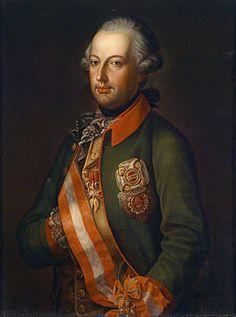 keizer jozef ii | Portret van keizer Jozef II in uniform, ca. 1780.