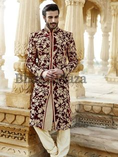 designer-sherwani-collection-pakistan-groom-sherwani