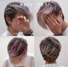 Messy is Cool: 40 Short'n'Messy Pixie Haircuts You Must Try! Messy is Cool: 40 Short'n'Messy Pixie Haircuts You Must Try! Ftm Haircuts, Tomboy Hairstyles, Hairstyles Haircuts, Pretty Hairstyles, Pixie Haircuts, Hairstyle Ideas, Drawing Hairstyles, Short Hair Cuts, Short Hair Styles
