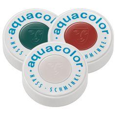 Aquacolor en colores patrios en presentación de 30 ml.