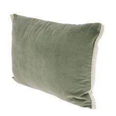 5 coloris - En-fil-dindienne - Coussin en velours Domino - 50x75 cm – Home Beddings and Curtains