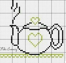 Tiny Cross Stitch, Cross Stitch Kitchen, Simple Cross Stitch, Cross Stitch Designs, Cross Stitch Patterns, Hand Embroidery Stitches, Cross Stitch Embroidery, Tapestry Crochet Patterns, Thread Art