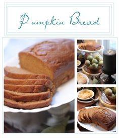 Pumpkin Bread recipe for fall