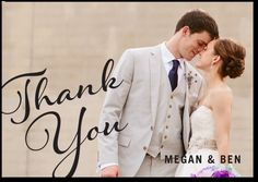 Perfectly Lovely thank you cards - Shutterfly