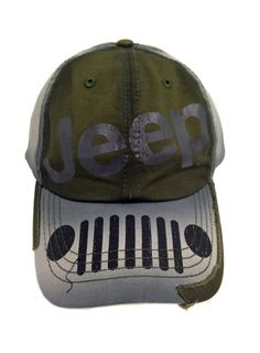 Jeep Distressed Grille Cap Wrangler Unlimited Accessories Clothing Parts