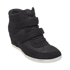 73cb7b7ff7b9 HICKORRY BLACK women s athletic fashion hightop - Steve Madden in GRAY size  8.5. tell the