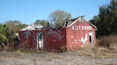 Abandoned building in Palmdale, Florida.
