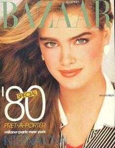 Brooke Shields Harpers Bazaar Italia Phoebe Cates GIA Carangi Weber Newton | eBay