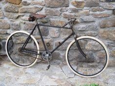 Altes Fahrrad OPEL - schoene Lenker mit Bremse,orig. Steuerkopfschild