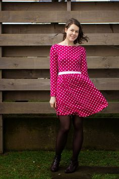 Making It Well: Completed: The Indie Mash-up Dress!
