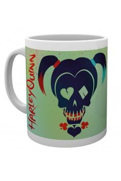 Mug Icon Logo Coffee Cup Film Movie Suicide Squad Harley Quinn Skull Mugs