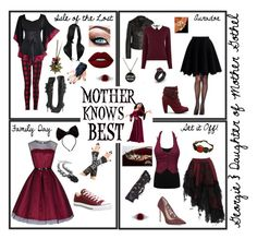 """""""Descendants OC ~ Georgie"""" by jamie-the-witch ❤ liked on Polyvore featuring Disney, rag & bone, Pleaser, Benoît Missolin, BERRICLE, Lime Crime, M&Co, BCBGMAXAZRIA, Converse and KD2024"""