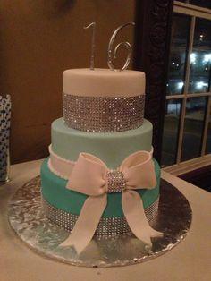 Isabella's Sweet 16 cake