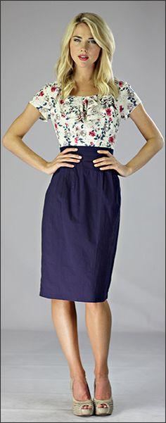 Charlotte Dress [MD1007] - $54.99 : Mikarose Fashion, Reinventing Modest Fashion