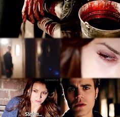"""S5 Ep21 """"Promised Land"""" - Elena and Stefan"""