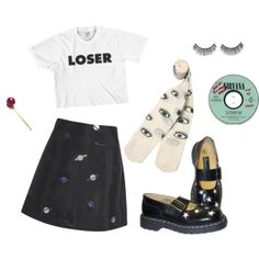 """dont make eye contact."" by dolphinslikemen on Polyvore"