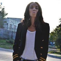 Kiss kiss bang bang by Alexandra Moldovan Kiss Kiss Bang Bang, Personal Taste, November, Blazer, Jackets, Women, Style, Fashion, November Born