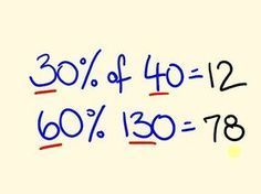 Percentage Trick Solve precentages mentally percentages made easy with the c is part of Cool math tricks - Percentage Trick Solve precentages mentally percentages made easy with the c Easy mentally Percentage percentages precentages Math For Kids, Fun Math, Math Games, Math Activities, Math Class, Kids Fun, Cool Math Tricks, Maths Tricks, Math Tips