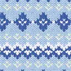 Noorse patronen breien telpatronen inbreipatronen Fair Isle Norwegian patterns A variety of swatch photos with accompanying pattern grid alongside
