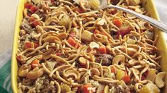 Casseroles featuring meat, rice and vegetables are meal-in-one sensations super for weekday suppers.