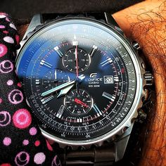 #Casio #Casiowatch #CasioEdifice #watch #watches #wristwatch #wristwatches #wristporn #watchporn #wristcandy #curacao... Quality Watches, Breitling, Accessories, Jewelry Accessories