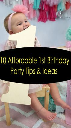 10 Affordable First Birthday Party Ideas and Tips Birthday Party Games, Unicorn Birthday Parties, First Birthday Parties, First Birthdays, Birthday Ideas, Kids Party Decorations, Party Ideas, Kids Party Entertainers, Pinata Fillers