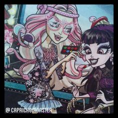 MonstrAmigas ♥ #MonsterHigh #Mattel #Elissabat #ViperineGorgon #ScareAndMakeUp #FrightsCameraAction