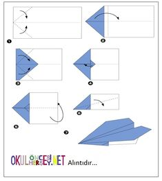 çocuklar-için-basit-origami-Uçak-1.jpg (642×712)