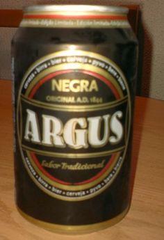 Cerveja Argus Negra, estilo Dark American Lager, produzida por Lidl Polska, Portugal. 5.6% ABV de álcool.