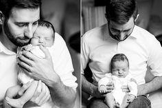 Babyfotos vom kleinen Anton | Friedasbaby.de Father and son Cappello Photography