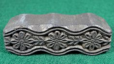 Carved Wood Print Block Textile or Pottery Stamp TS68 Uber Kuchi