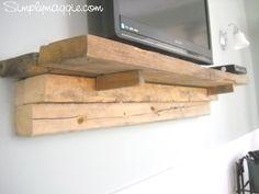 floating tv   Floating TV Shelf   H o m e   Pinterest
