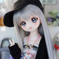 Anime Dolls, Bjd Dolls, Barbie Dolls, Pretty Dolls, Beautiful Dolls, Anime Chibi, Kawaii Anime, Anime Drawing Styles, Kawaii Doll