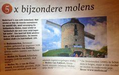 Vandaag in @Telegraaf NL Reizen: 5x bijzondere molens met de #Buitenmolen in #Zevenaar. Zaterdag 2 november 2013. via twitter @Gemeente Zevenaar.