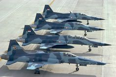 F-5E/F of Indonesian Air Force