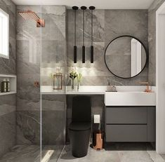 dream bathrooms master baths modern - Home Decor Design Bathroom Layout, Bathroom Interior Design, Modern Bathroom, Small Bathroom, Dream Bathrooms, House Design, Studio Design, Home Decor, Master Baths
