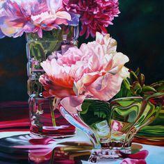 Florals, Joy of Spring - Soon Warren - Oil