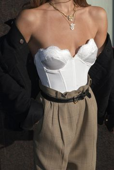 Top Cat Bustier Pearl Click Pic for the Hottest Lingerie Online Source by Outfits party Look Fashion, High Fashion, Fashion Beauty, Fashion Outfits, Womens Fashion, Fashion Tips, Fashion Trends, Casual Outfits, Street Fashion