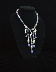 Necklace using Jesse James Beads