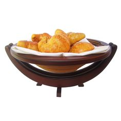 WOODEN COLLAPSIBLE BASKET   serving bowl, magic bowl, kitchen equipment, space saving   UncommonGoods