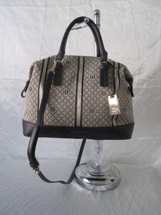 Tommy Hilfiger Handbag CV Bowler Color Beige 6936530 272 Retail Price $85.00…
