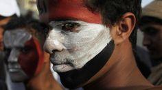 Yemenis mark third anniversary of revolution calling for govt. resignation