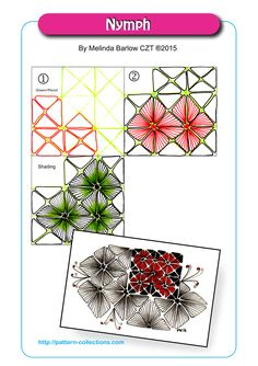zentangle patterns for beginners Tangle Doodle, Tangle Art, Zen Doodle, Doodle Art, Zentangle Drawings, Doodles Zentangles, Doodle Drawings, Doodle Patterns, Line Patterns