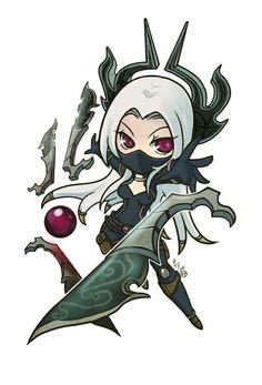 Chibi Nightblade Irelia